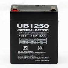 Akkumulátor 12V 5Ah